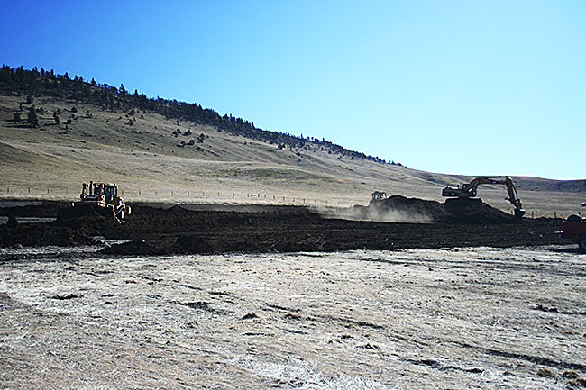 Wellsite reclamation project manged by Eastern Slopes Rangeland Seeds Ltd.